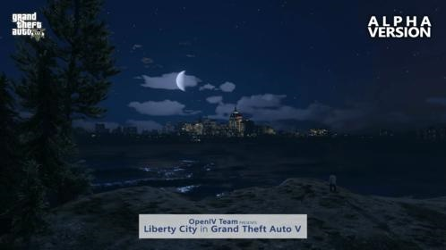 OpenIV: Liberty City released in GTA V, first screenshots