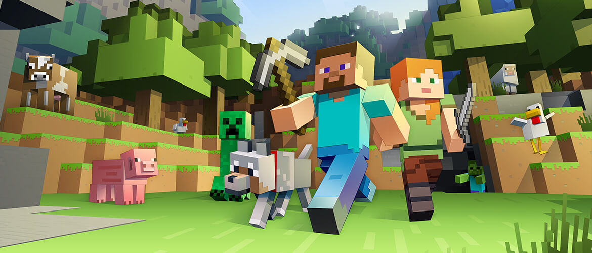 Minecraft goes MMO