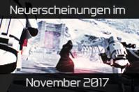 Alle Spiele-Neuerscheinungen im November 2017