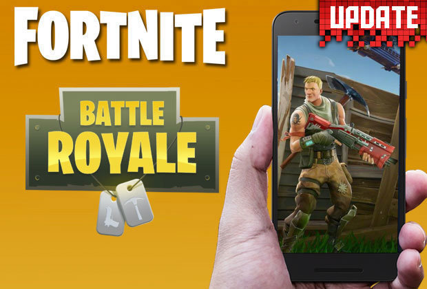 Fortnite will soon be arriving on mobiles!